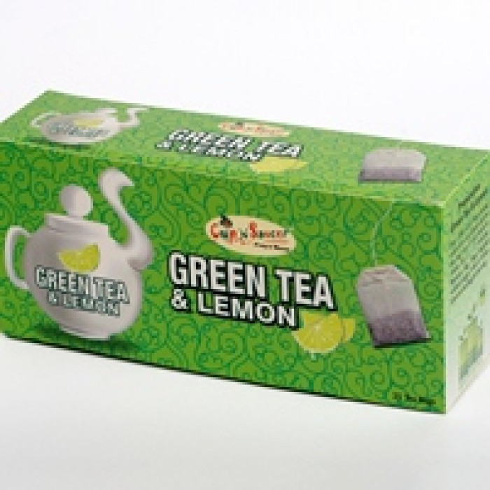CNS-GREEN TEA & LEMON (25BAGS)