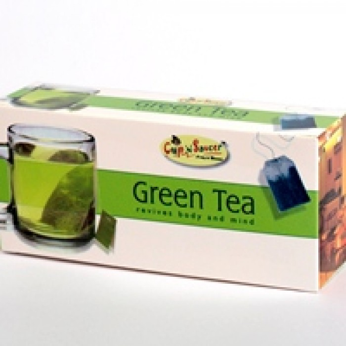 CNS-GREEN TEA BAGS 25 S