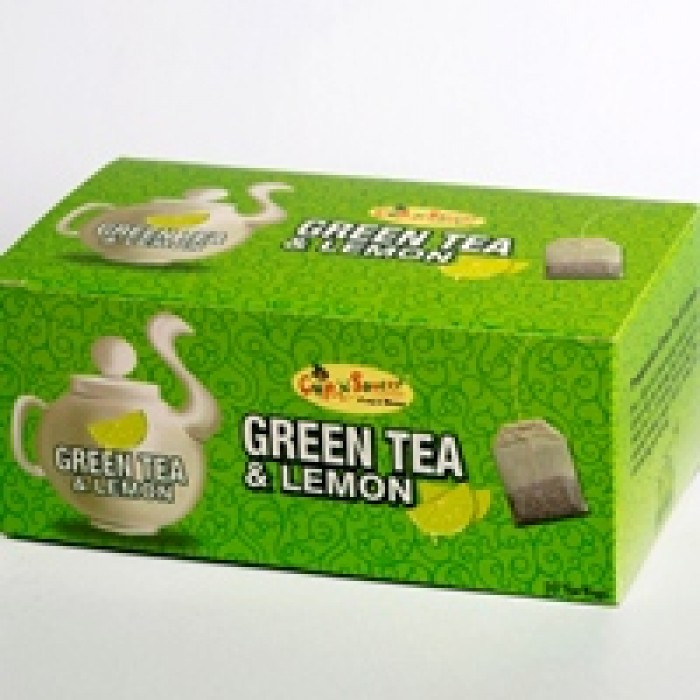 CNS-GREEN TEA & LEMON (50BAGS)