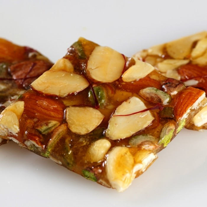 NNS.SP-DRY FRUIT CHIKKI 250GMS