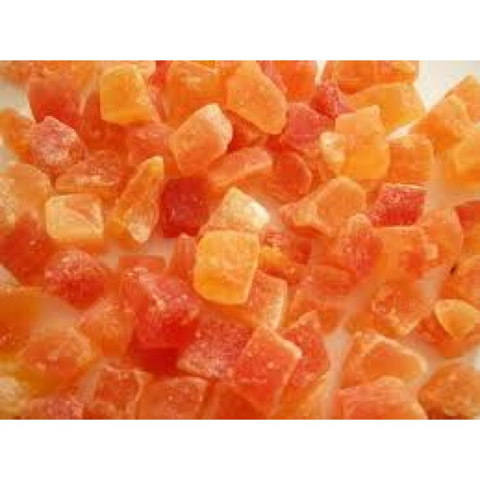 DRIED PAPAYA CANDY 200GMS